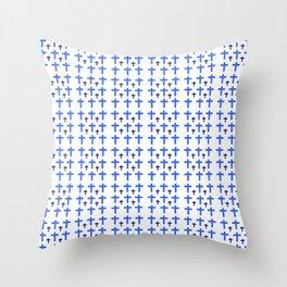 Christian Cross 20 Throw Pillow