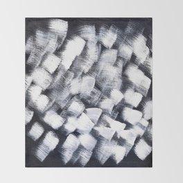 Black and white Throw Blanket
