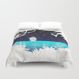 Discover the Jungle Duvet Cover
