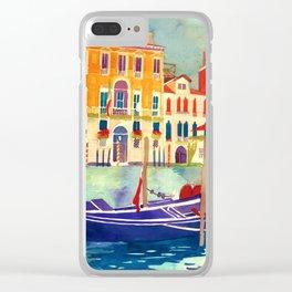 sunshine in Venezia Clear iPhone Case