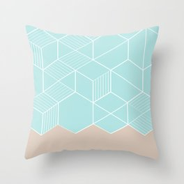 SORBETEMINT Throw Pillow