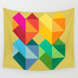 Multiple Hearts Wall Tapestry