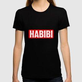 Habibi Arabisch Liebling Geliebter Freund Habibati Mahbub  T-shirt
