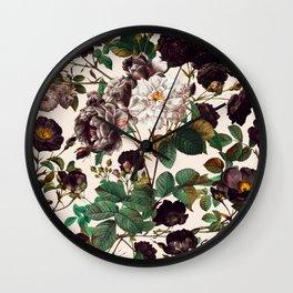 Mysterious Garden III Wall Clock