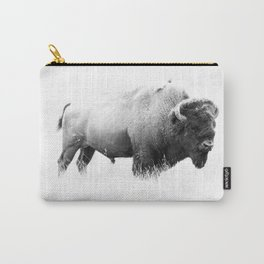 Bison - Monochrome Carry-All Pouch
