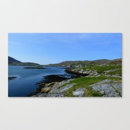 Castlebay Barra, The Outer Hebrides Canvas Print