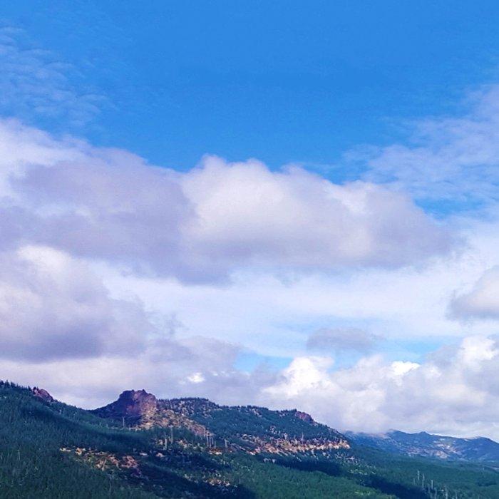Northern Cascade Sky Leggings