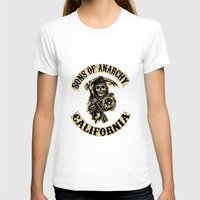 sons of anarchy T-shirts featuring Sons of anarchy Motorcycle club by OverClocked