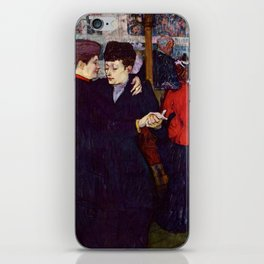 "Henri de Toulouse-Lautrec ""Two Woman Waltzing"" iPhone Skin"