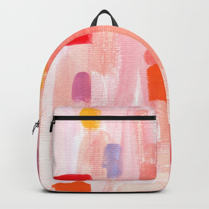Put Sorrows In A Jar - abstract modern art minimal painting nursery Backpack