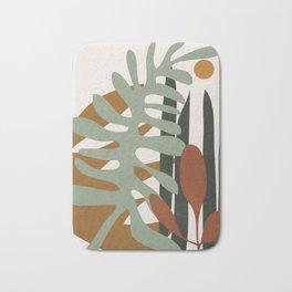 Abstract Plant Life III Bath Mat