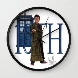 10th Doctor Wall Clock