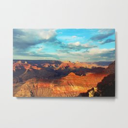 Grand Canyon - National Park, USA, America Metal Print