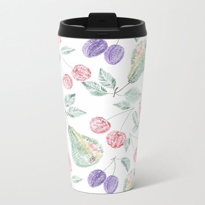 Fruity delight. Metal Travel Mug