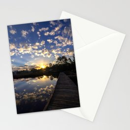 Sunrise Clouds Stationery Cards