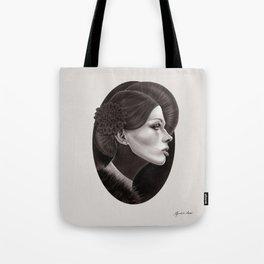 """""""The Black Dahlia"""" Tote Bag"""