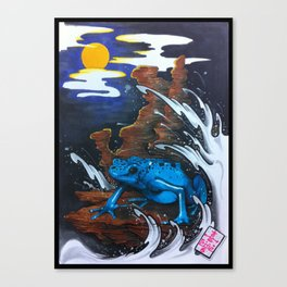 Drawing by Reeve Wong Canvas Print
