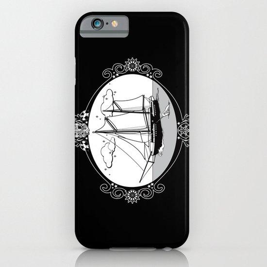Sailing Ship Oval iPhone & iPod Case