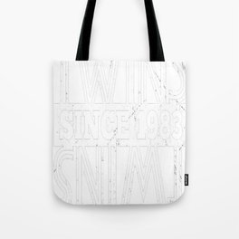 Twins-Since-1983---34th-Birthday-Gifts Tote Bag
