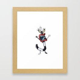 Oblina Monster Framed Art Print