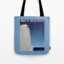 House Beautiful July 1935 Tote Bag