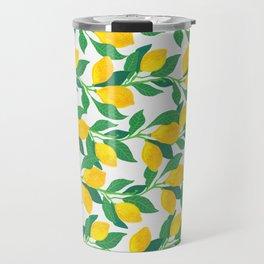 Lemon branch Travel Mug
