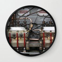 Tasty Diesel Wall Clock