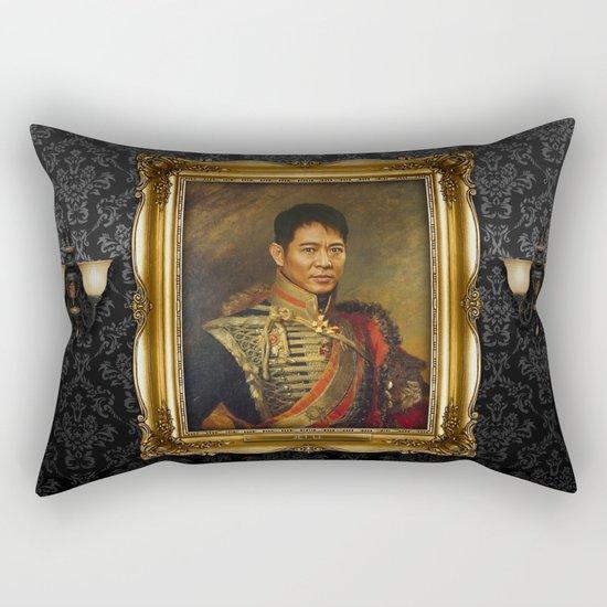 Jet Li - replaceface Rectangular Pillow