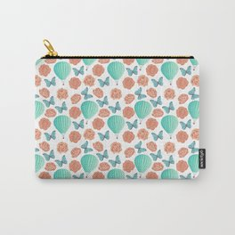 Fly Away With Me Pattern Carry-All Pouch