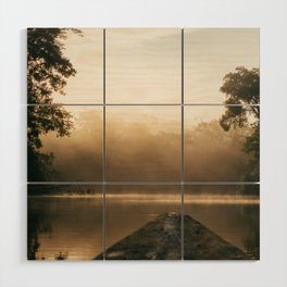 Amazonas view Wood Wall Art