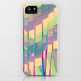 pastel prism iPhone Case
