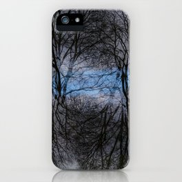 Abstract tress iPhone Case
