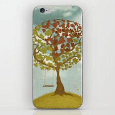 All Seasons Tree iPhone & iPod Skin