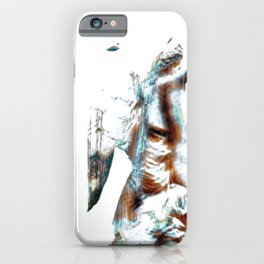ICM statue 020-2020 Barcelona, Spain iPhone Case
