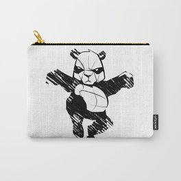 sketch panda martial arts Carry-All Pouch