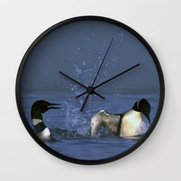 Loon laugh Wall Clock