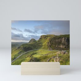 Sunrise Over the Quiraing Mini Art Print