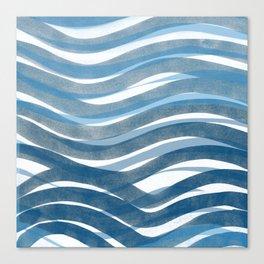 Ocean's Skin Canvas Print