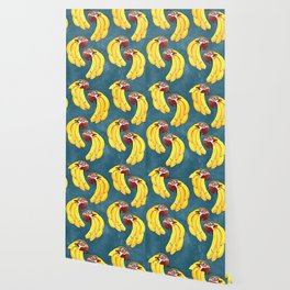 bananas and birds Wallpaper