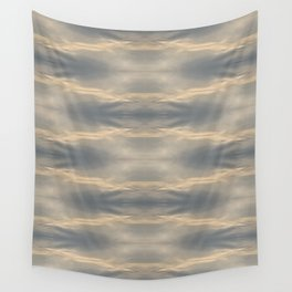 Pale Champagne Argyle Wall Tapestry
