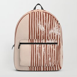 Desert Colors lines and stripes Backpack