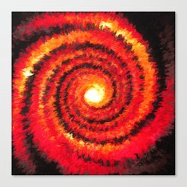 Fire Portal Canvas Print