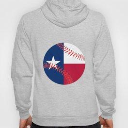 Texas Flag Baseball Hoody