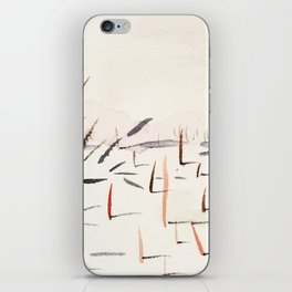 Sticks and Shadows on the North Thompson iPhone Skin