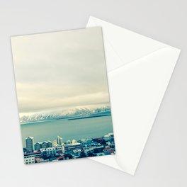 Blue Reykjavik - Iceland Stationery Cards