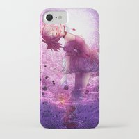 madoka iPhone & iPod Cases featuring Madoka Magica Madoka Kaname  by RootisTabootus