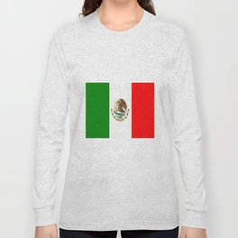 Flag of Mexico Long Sleeve T-shirt