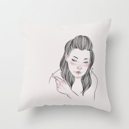Are you gonna break my heart? Throw Pillow