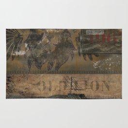Old Lion (Boro Style) Rug