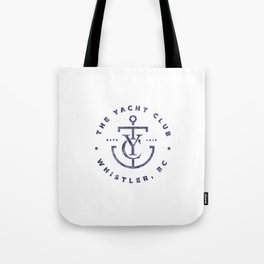 YC Blue Distressed Tote Bag
